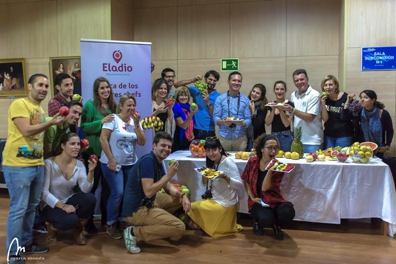 Frutas Eladio nos dío el toque fresco en la jornada de formación en MarbellaATB - Los viajes de Margalliver